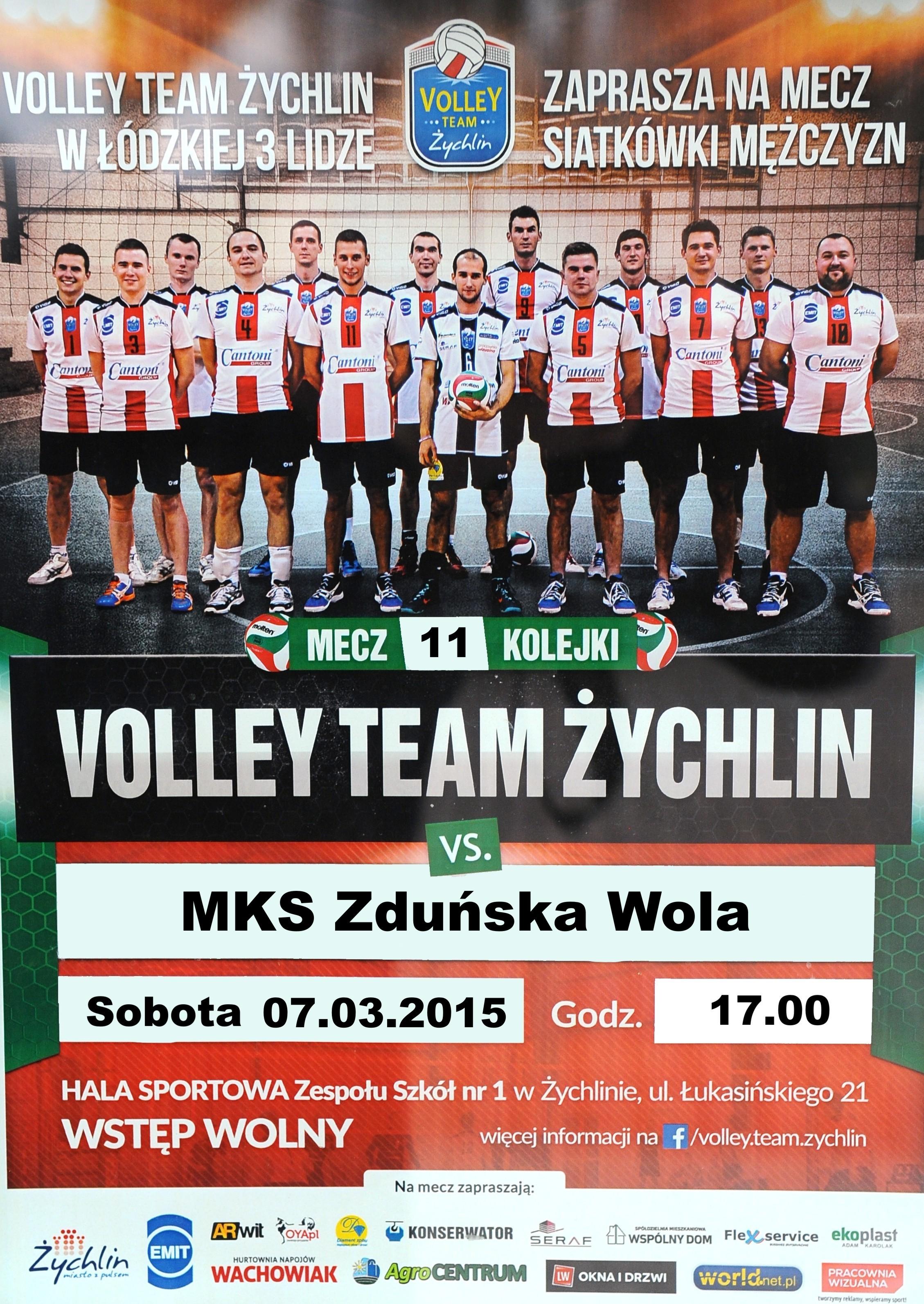 volley mks zduńska wola