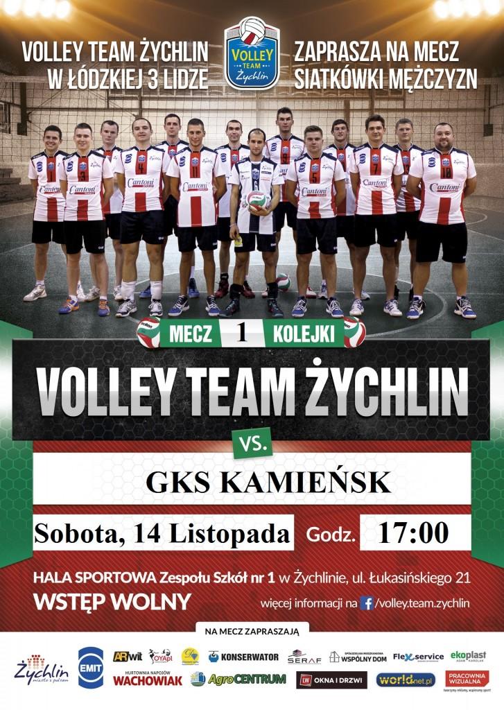 Pierwszy mecz sezonu VTŻ-GKS KAMIEŃSK