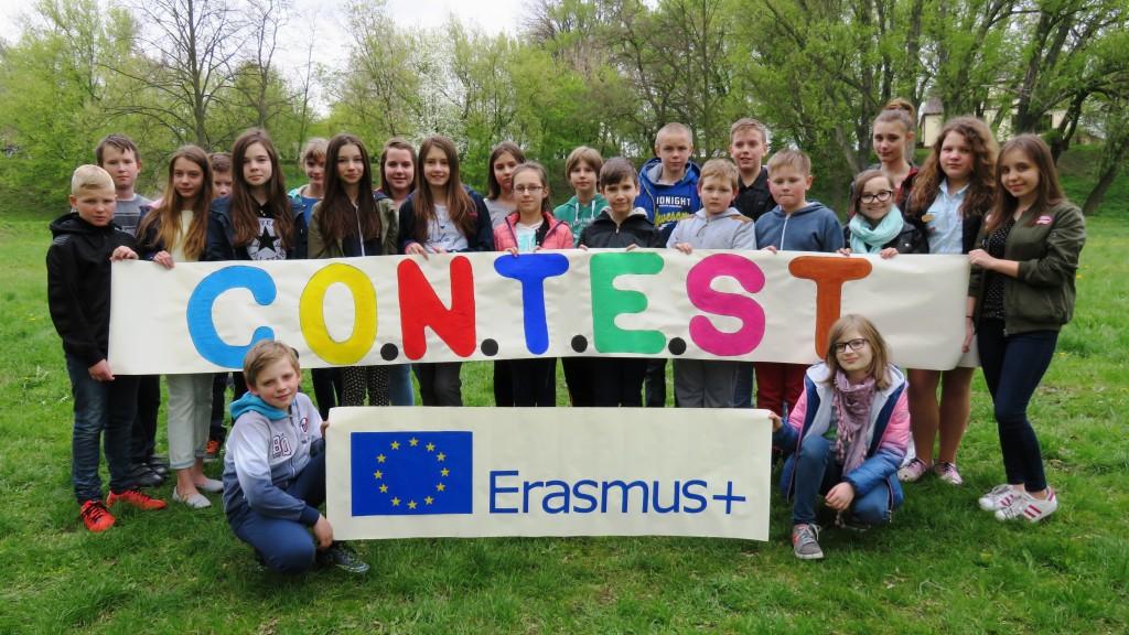 Polska grupa projektowa ze Szkoły Podstawowej nr 1 w Żychlinie