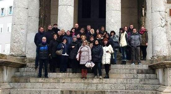 Spotkanie projektowe TPM w Chorwacji