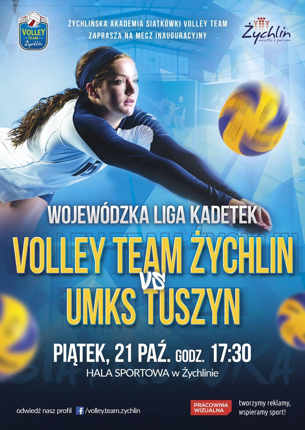 plakat-i-mecz-kadetek-w-sezonie-2016-2017-21-10-2016