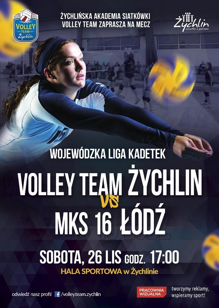 plakat-iv-mecz-kadetek-w-sezonie-2016-2017-26-11-2016